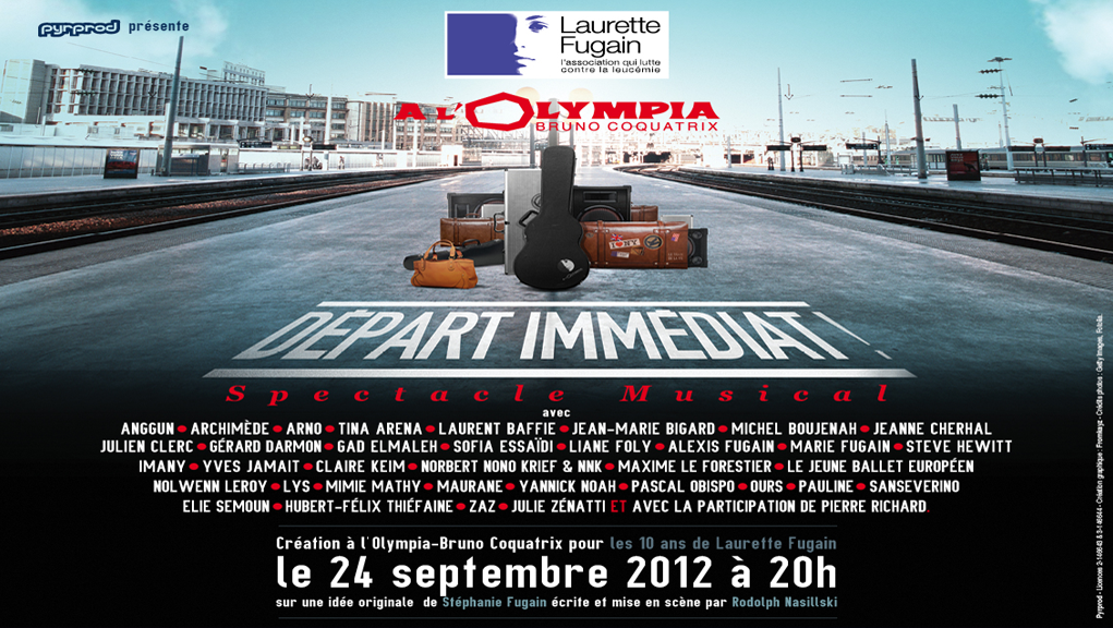 DÉPART IMMÉDIAT ! (Immediate Departure!) | Music Tv Show | Olympia Hall, Paris, France | September 24th, 2012